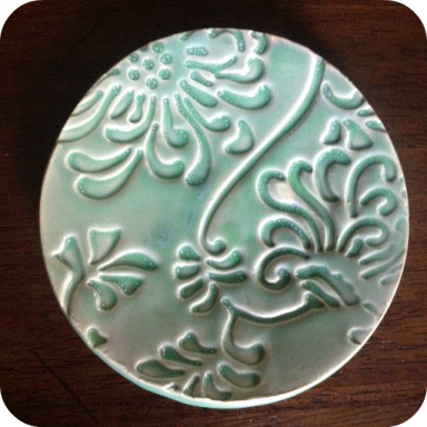 chrysanthemum plate